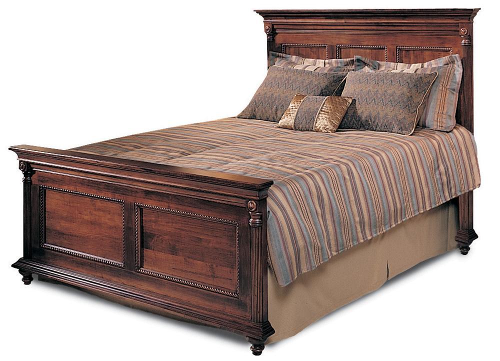 Saville Row King Panel Bed by Durham at Jordan's Home Furnishings