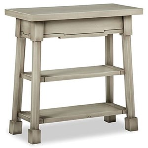 Cottage Style Rectangular End Table