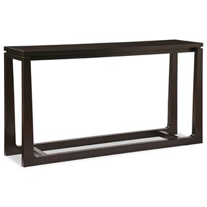 Transitional Solid Wood Console Table