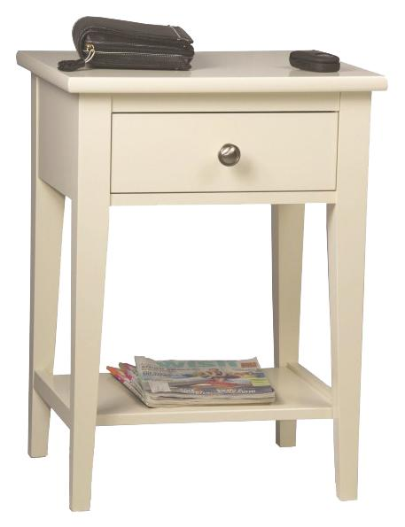 Solid Choices Transitional Open Night Stand by Durham at Jordan's Home Furnishings
