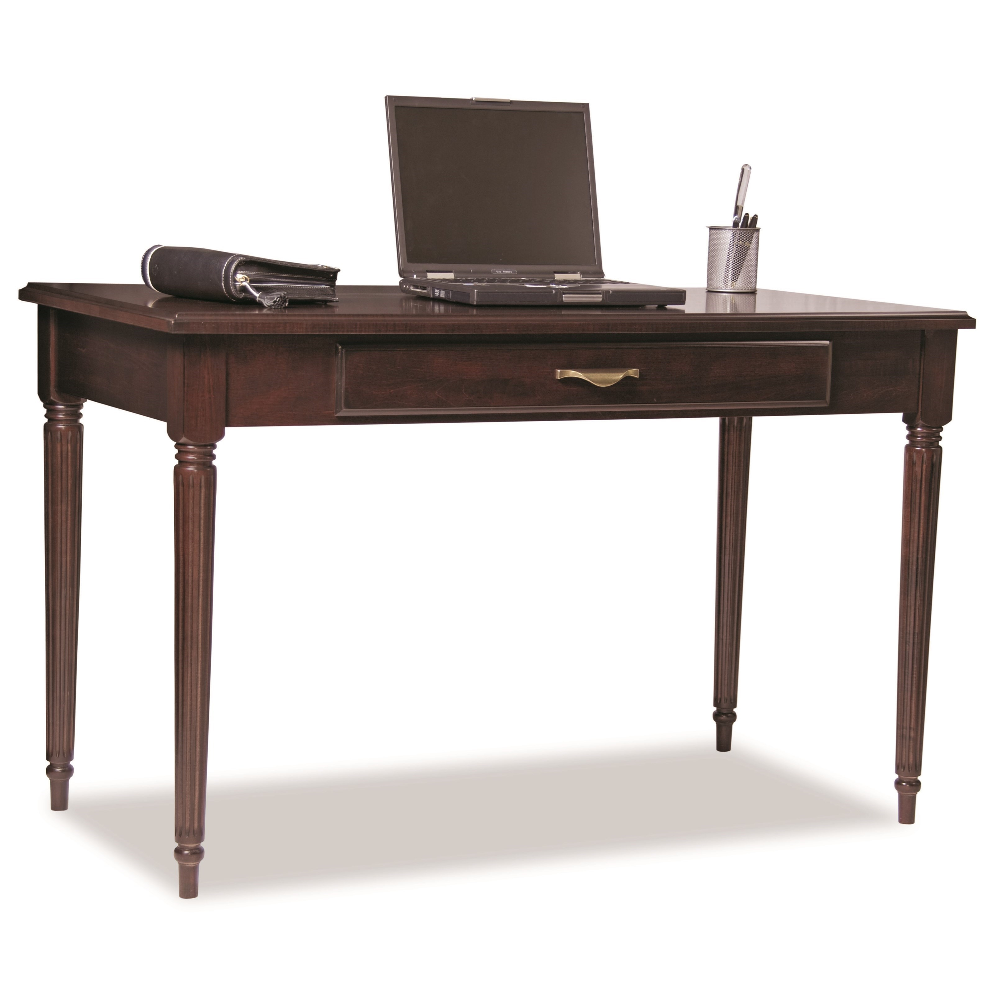 """Solid Choices 48"""" Traditional Writing Table/Desk by Durham at Stoney Creek Furniture"""