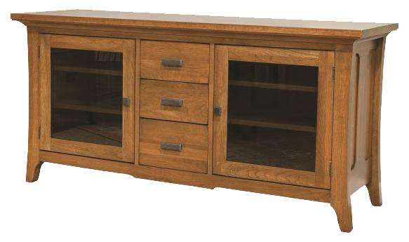 Solid Choices Westwood Plasma TV Console by Durham at Stoney Creek Furniture