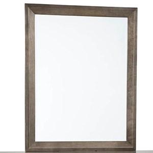 Vertical Solid Wood Frame Mirror