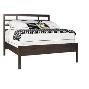 Queen Low Profile Asian Bed