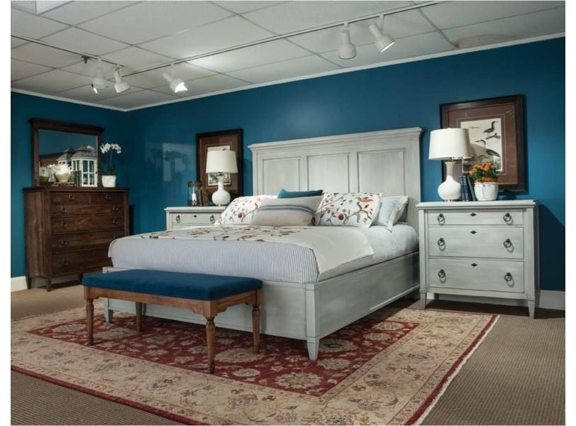 Springville Queen Panel Bed by Durham at Stoney Creek Furniture