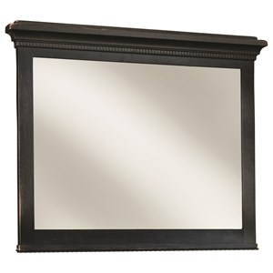 Vertical Frame Mirror w/ Beveled Glass