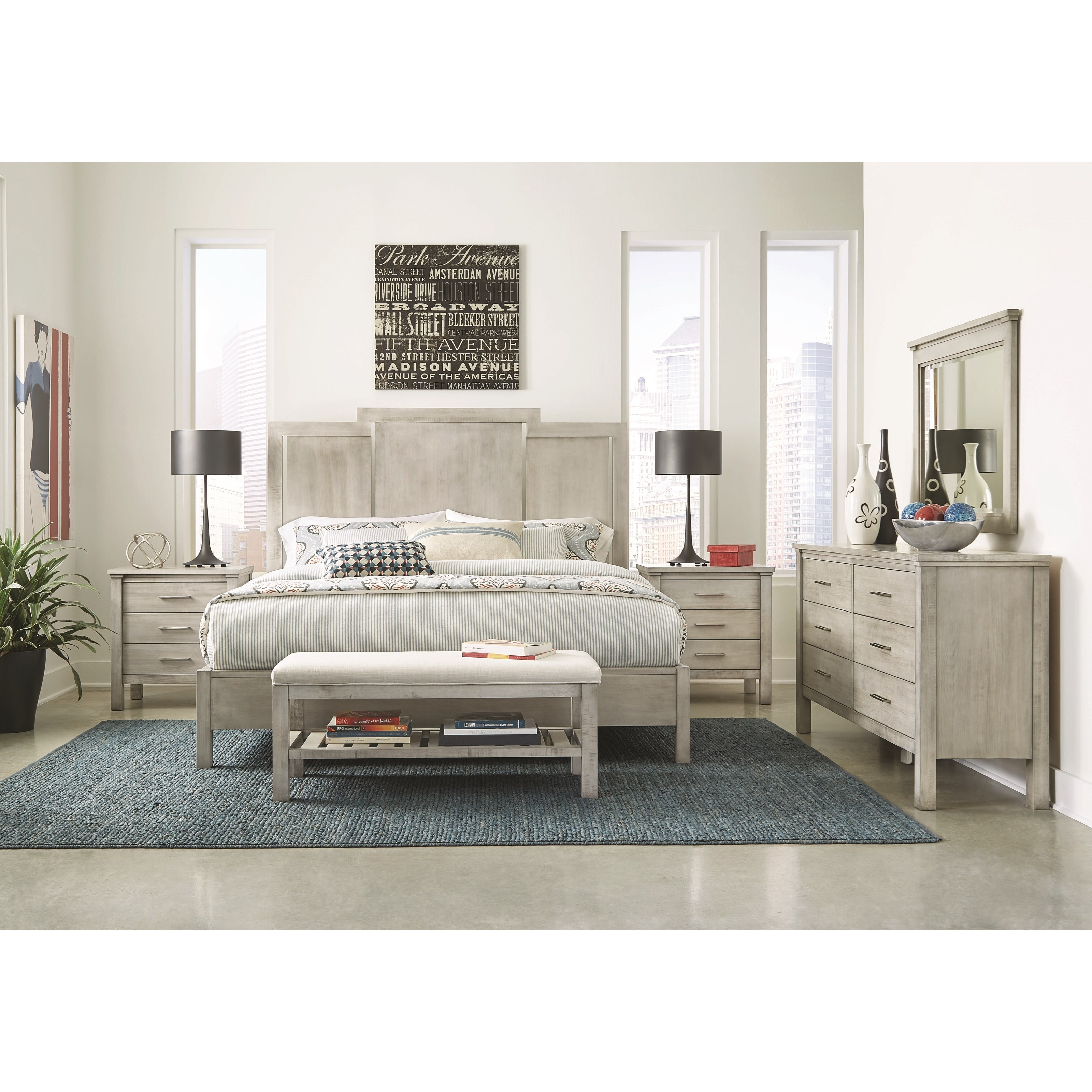 Studio 19 Queen Bedroom Group by Durham at Stoney Creek Furniture
