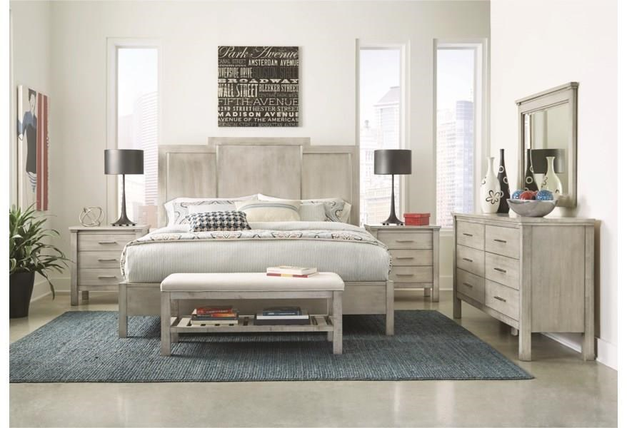 Studio 19 Queen Panel Bed by Durham at Stoney Creek Furniture