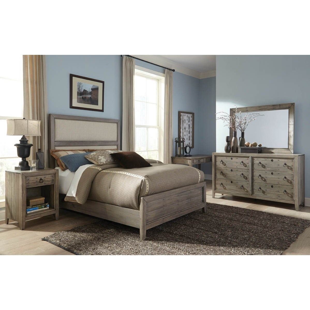 The Distillery King Bedroom Group by Durham at Stoney Creek Furniture