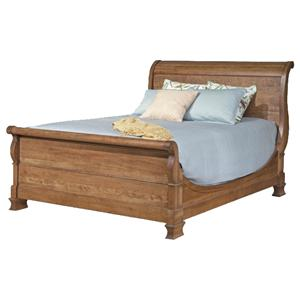 Durham Vineyard Creek  Queen Size Master Sleigh Bed