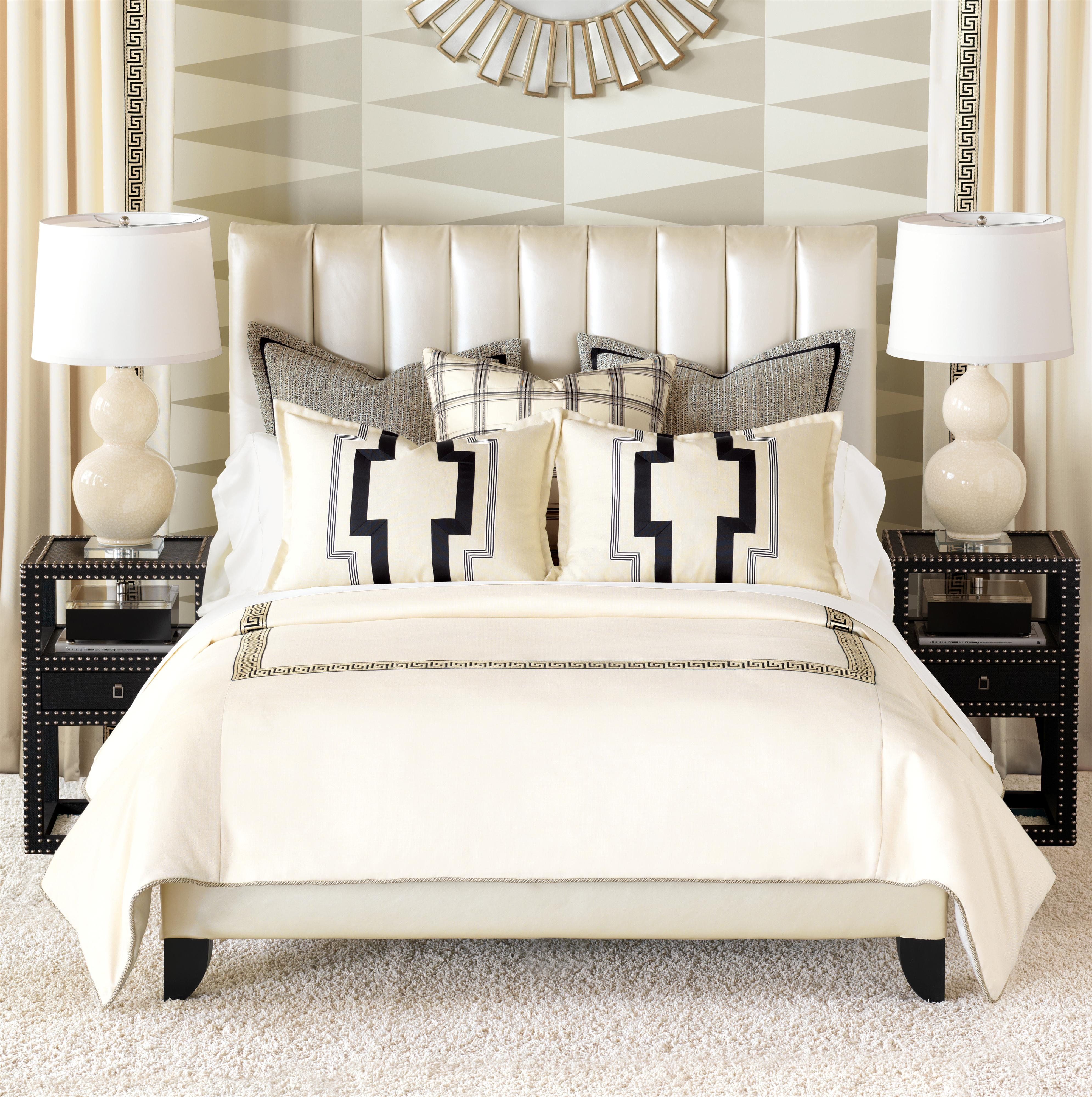 Abernathy Cal King Button-Tufted Comforter by Eastern Accents at Alison Craig Home Furnishings
