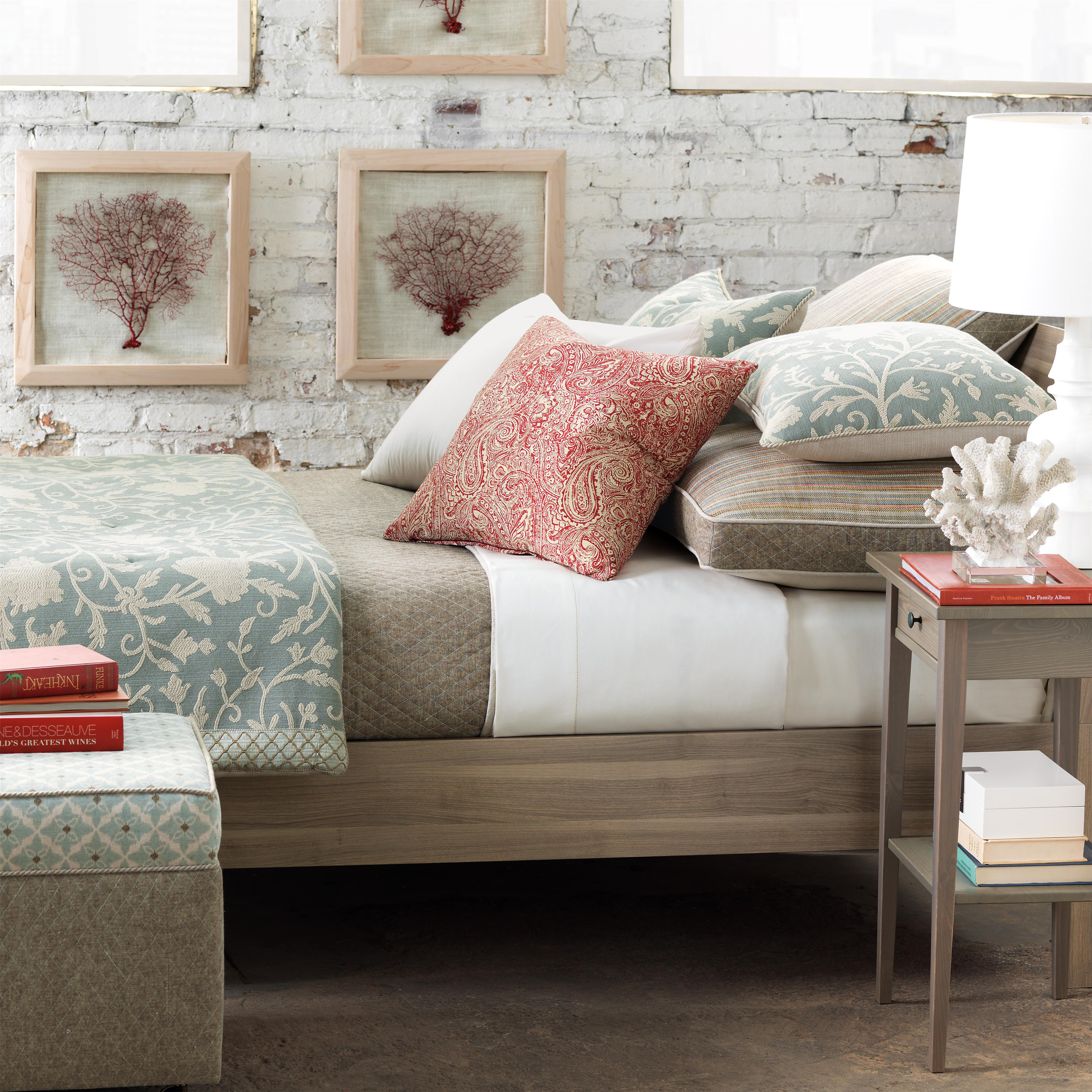 Aliva Cal King Bed skirt by Eastern Accents at Alison Craig Home Furnishings