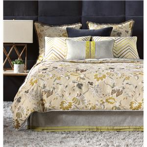 Eastern Accents Caldwell Cal King Hand-Tacked Comforter
