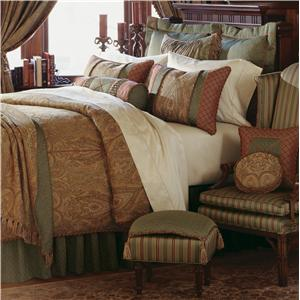 Eastern Accents Glenwood Cal King Button-Tufted Comforter