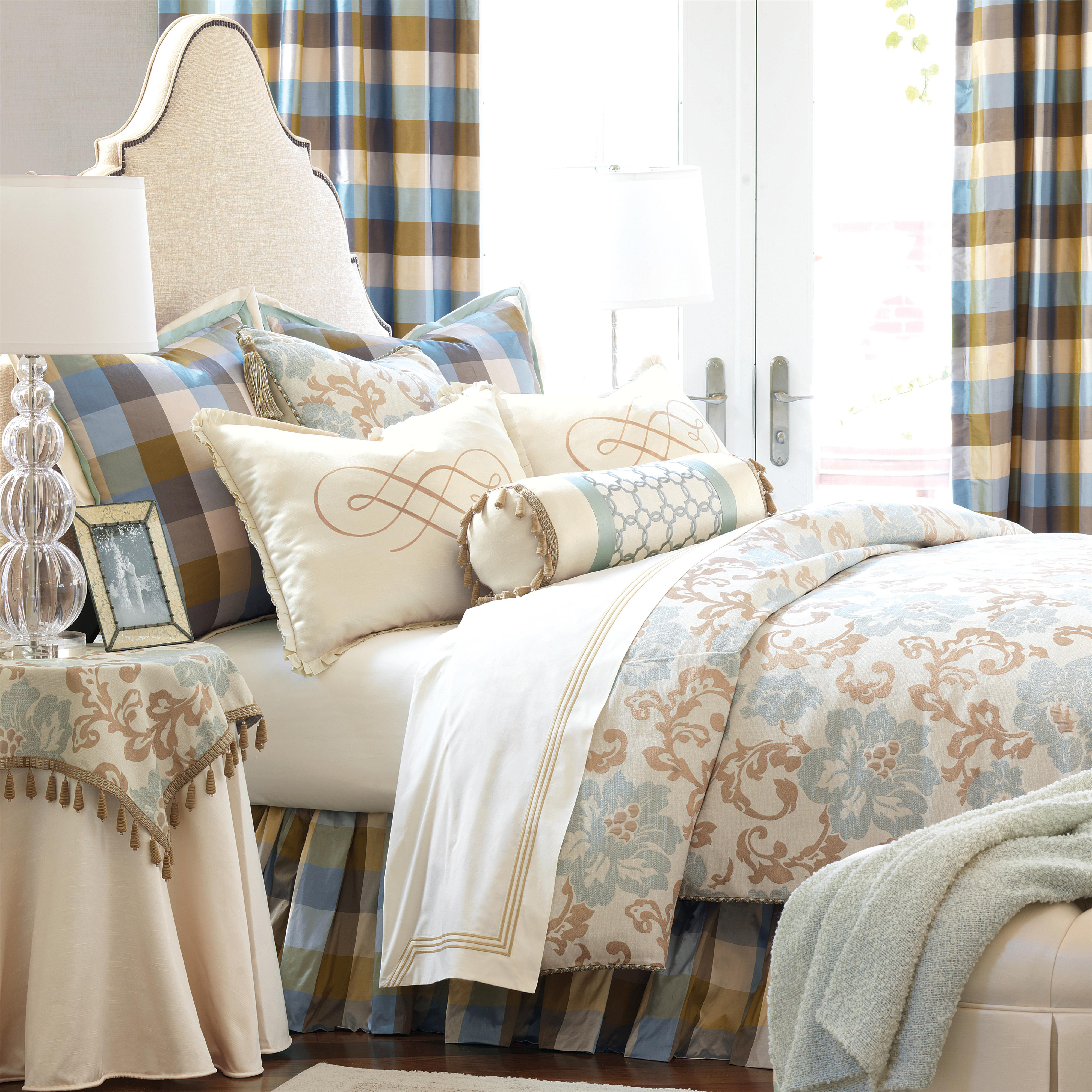 Kinsey Twin Button-Tufted Comforter by Eastern Accents at Alison Craig Home Furnishings