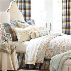 Eastern Accents Kinsey Cal King Hand-Tacked Comforter