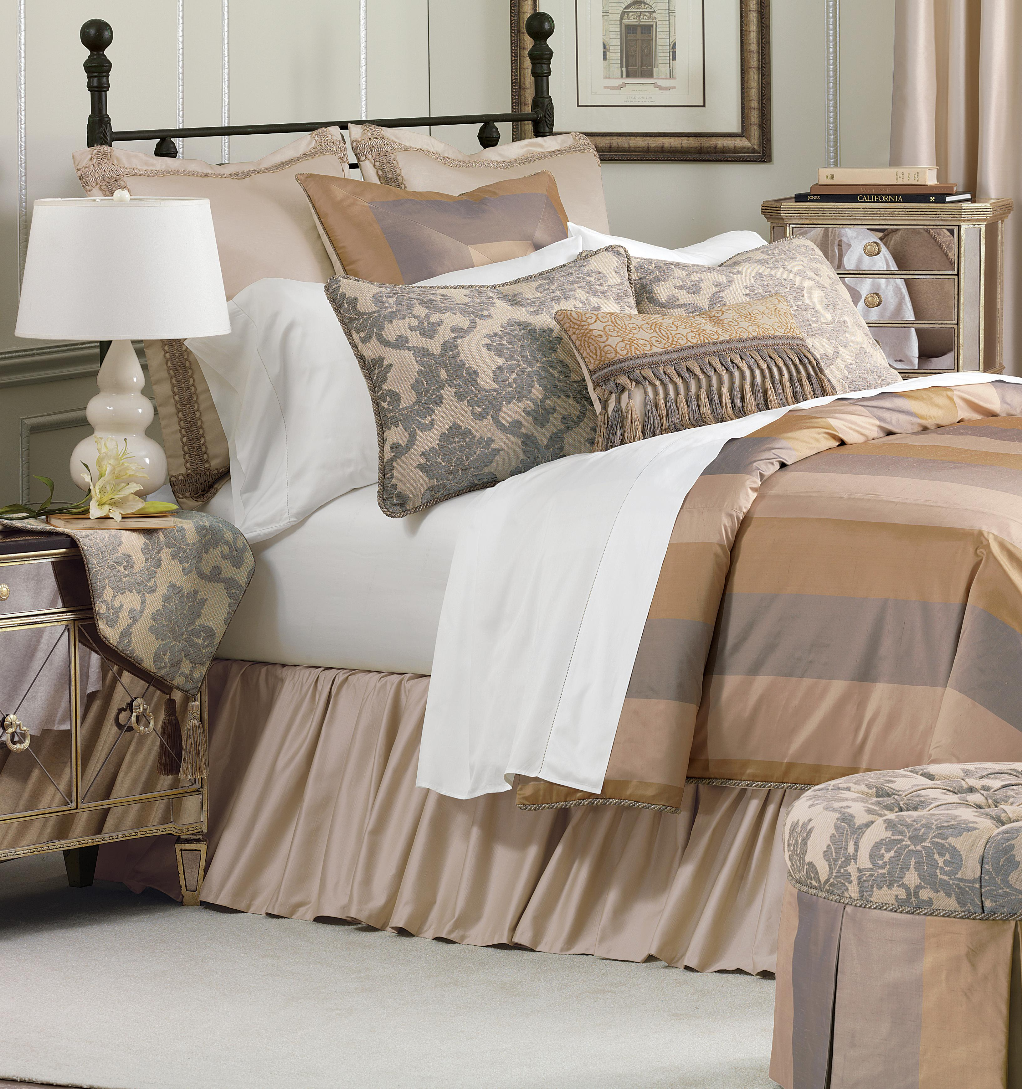 Lancaster Full Bedset by Eastern Accents at Alison Craig Home Furnishings