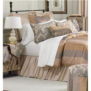 Eastern Accents Lancaster Cal King Hand-Tacked Comforter