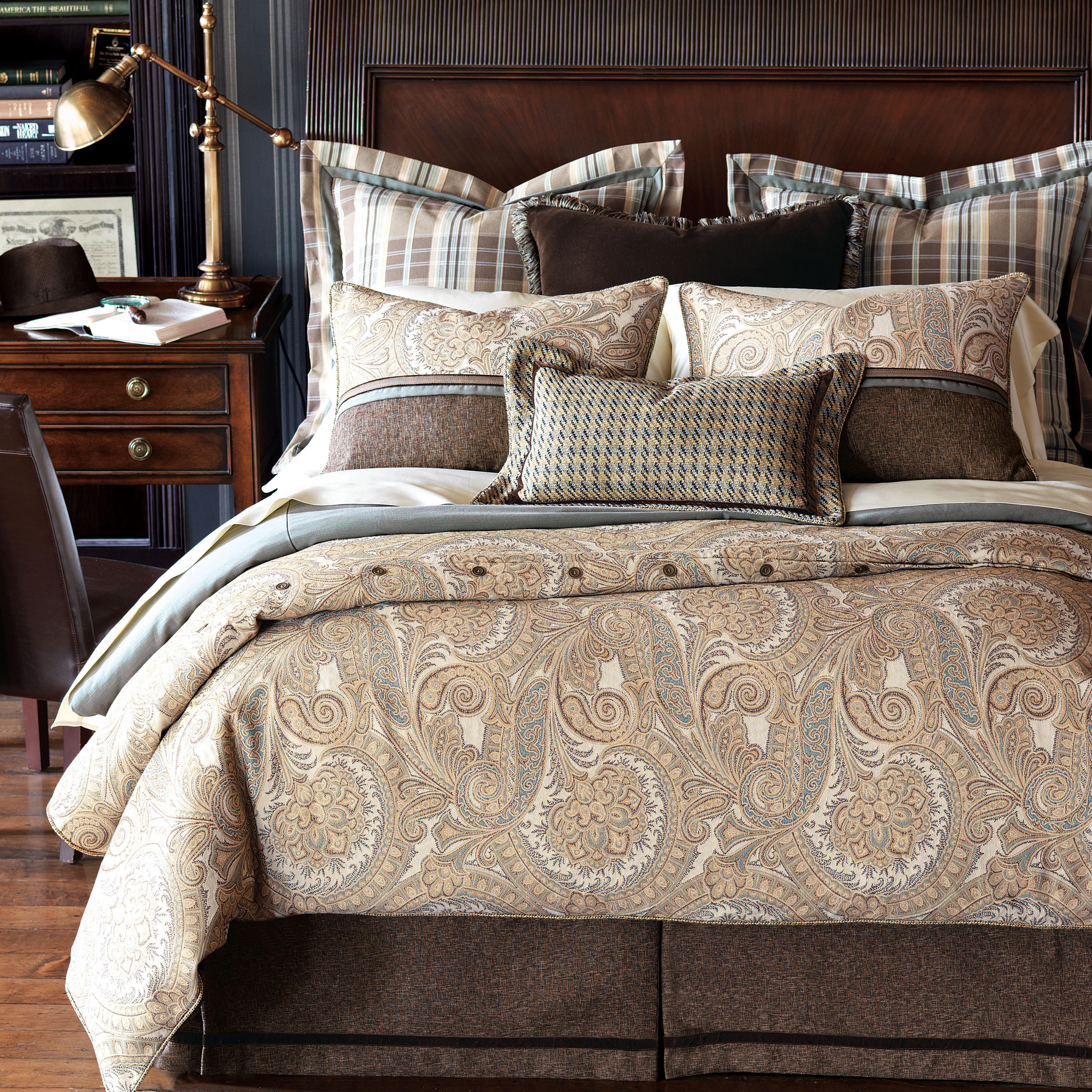 Powell Twin Hand-Tacked Comforter by Eastern Accents at Alison Craig Home Furnishings