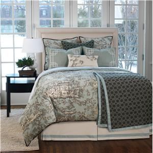 Eastern Accents Vera Cal King Button-Tufted Comforter