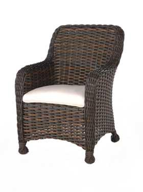 Dreux Dining Arm Chair by Ebel at Alison Craig Home Furnishings