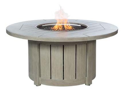 Fire Pit Round Base and Round Top Fire Pit by Ebel at Alison Craig Home Furnishings