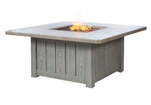Fire Pit 54 Inch Square Fire Pit by Ebel at Alison Craig Home Furnishings