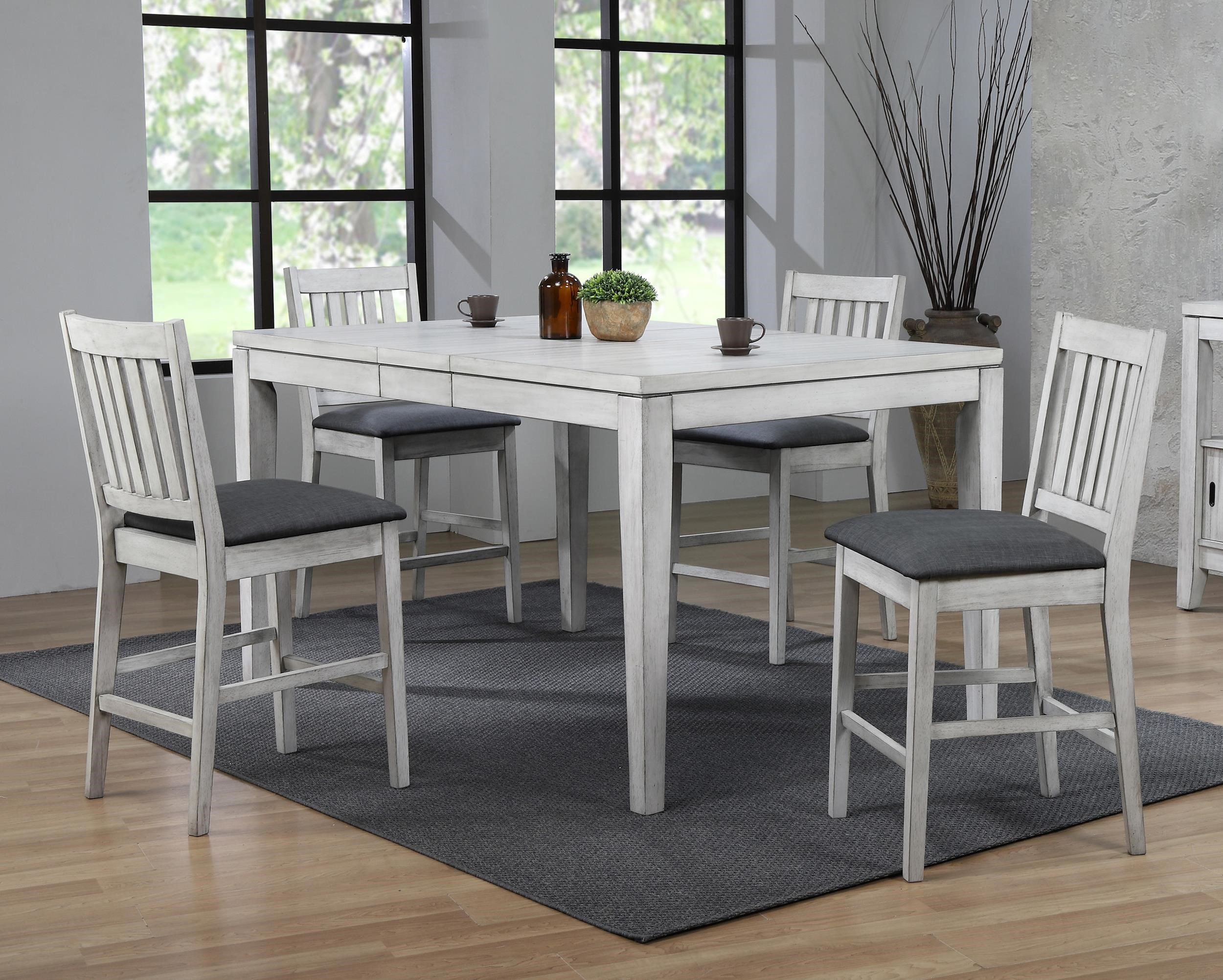 Summer Winds 5 Piece Counter Height Dining Room by E.C.I. Furniture at Wayside Furniture