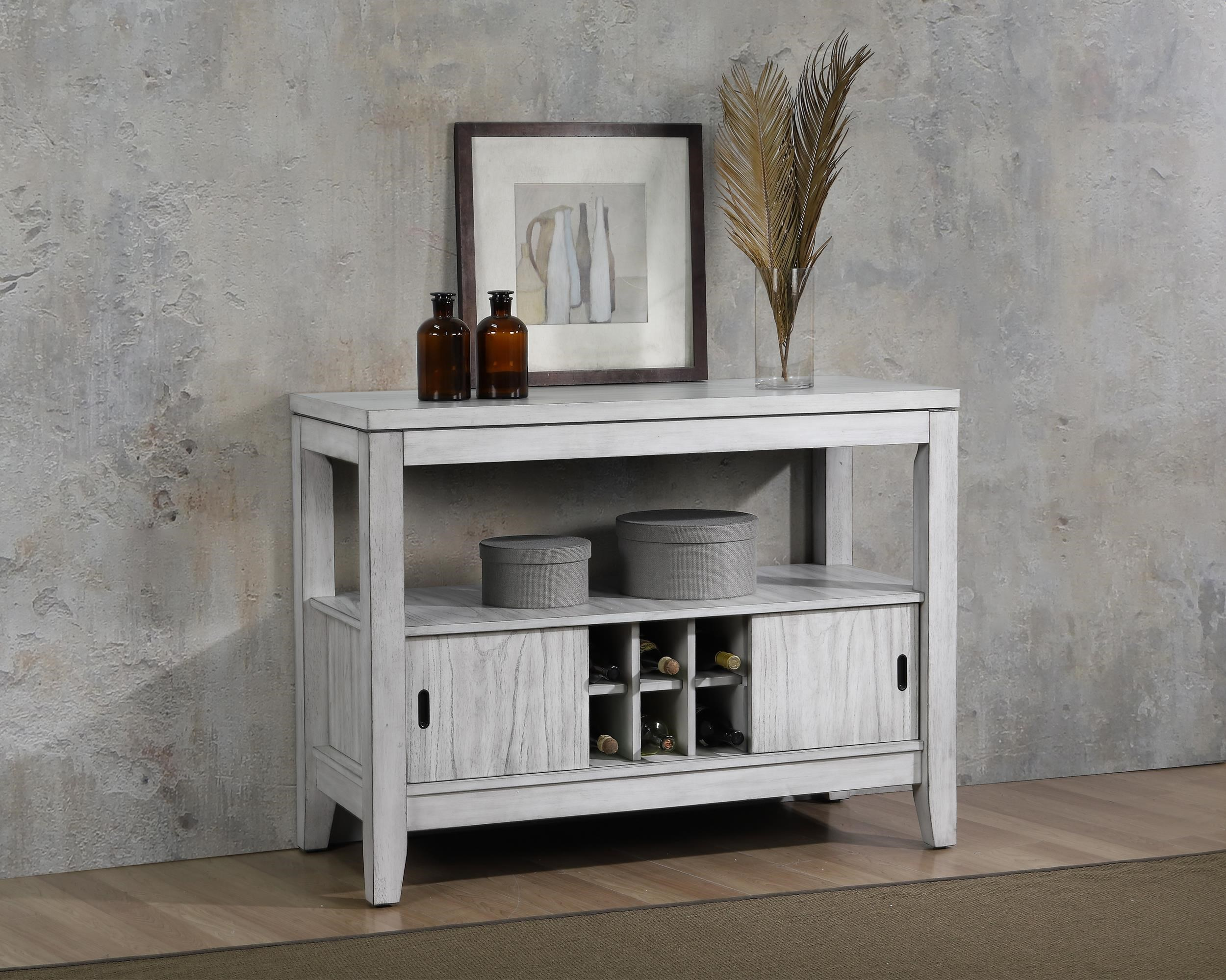 Summer Winds Sliding Door Wine Server by E.C.I. Furniture at Wayside Furniture