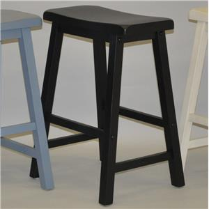 "24"" Saddle Stool"