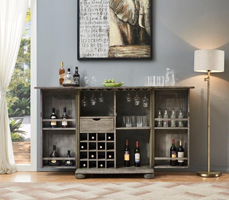 Bars Spirit Cabinet by E.C.I. Furniture at Johnny Janosik