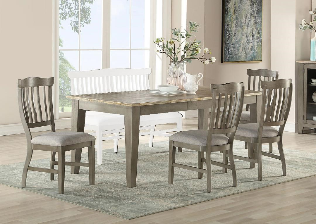 Bars Trestle Table and Chairs by E.C.I. Furniture at Johnny Janosik