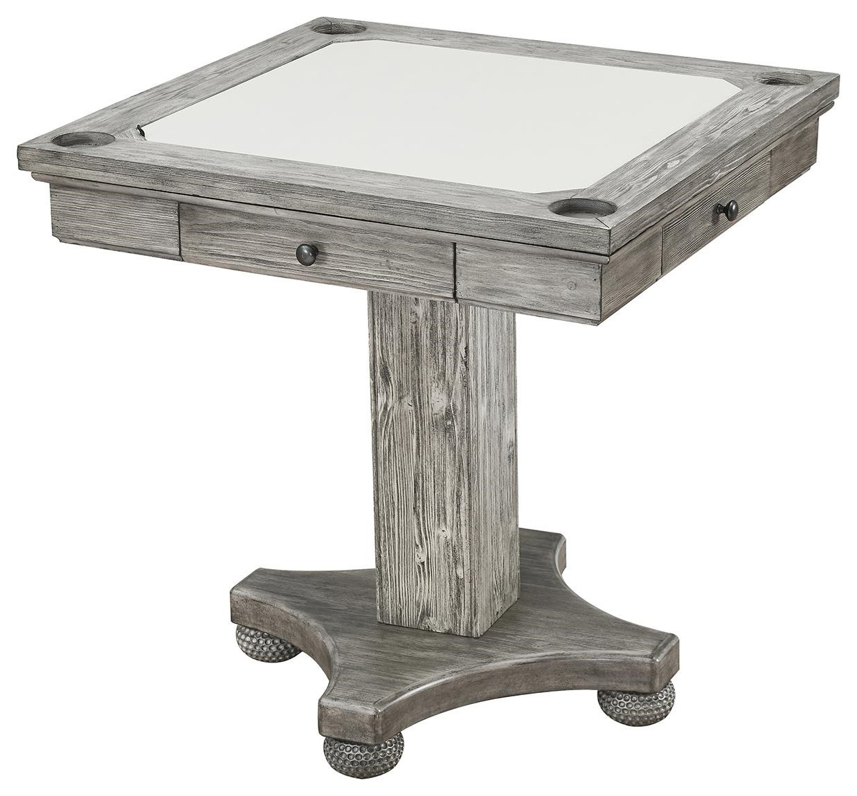 Bars Square Game Table by E.C.I. Furniture at Johnny Janosik
