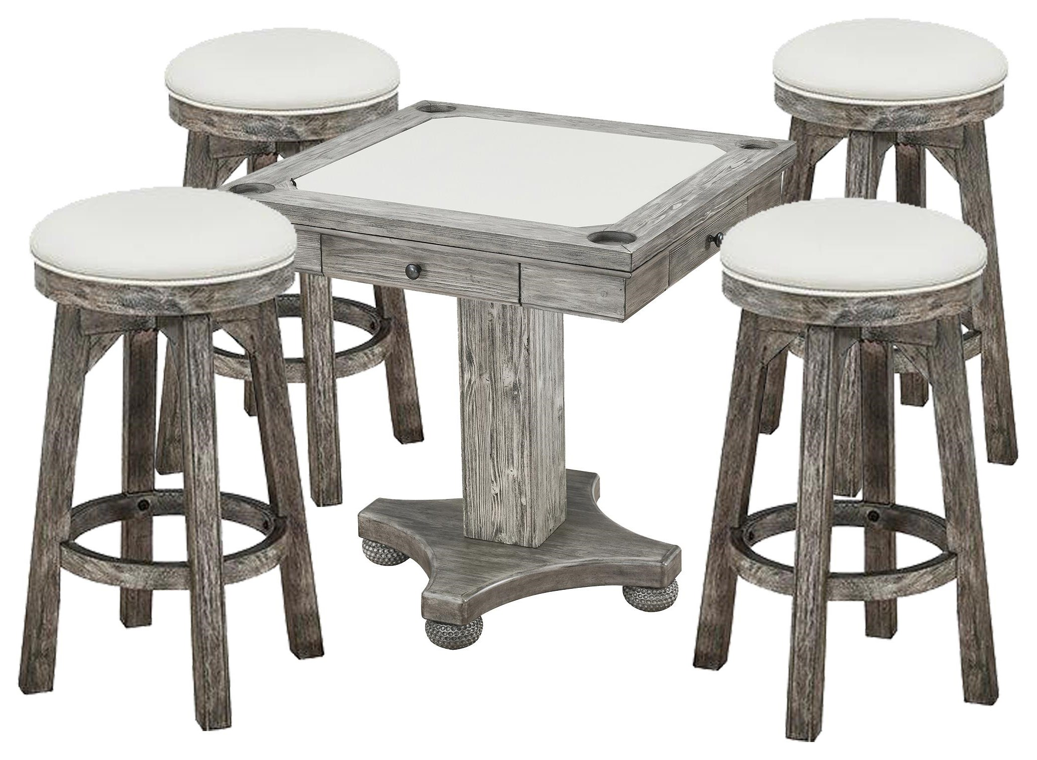 Bars Bar Game Table and Stools by E.C.I. Furniture at Johnny Janosik