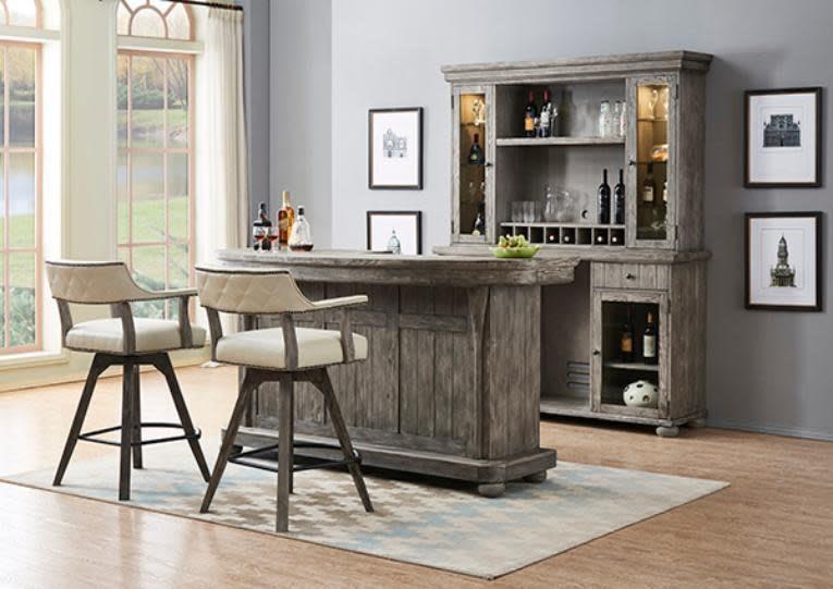 Bars Bar and Stools by E.C.I. Furniture at Johnny Janosik