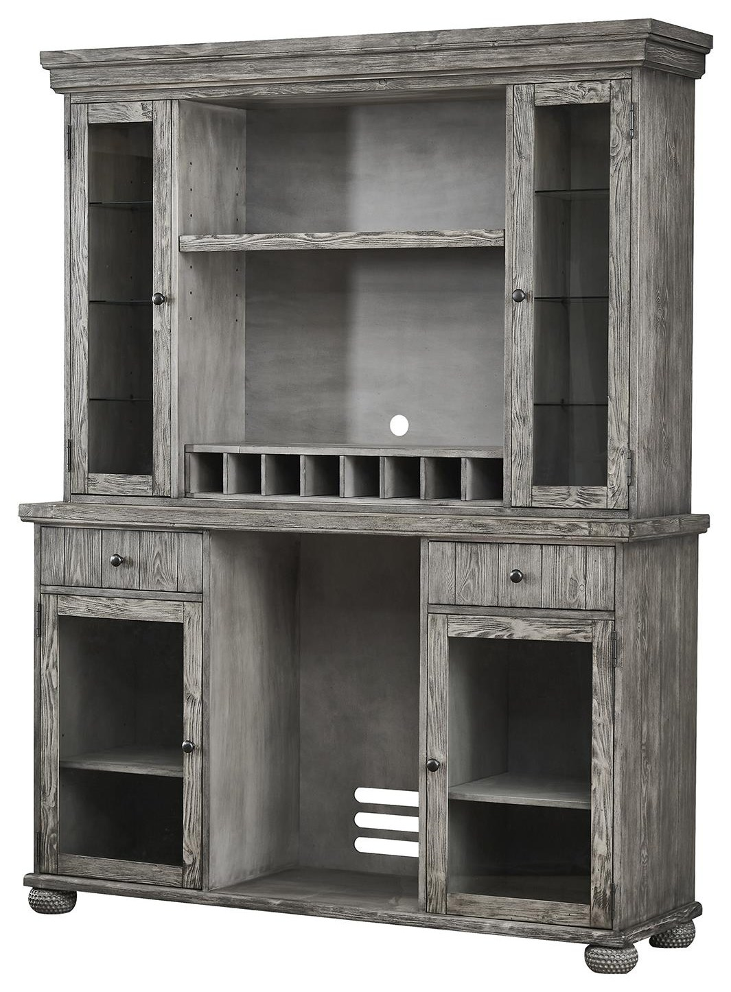 Bars Back Bar and Hutch by E.C.I. Furniture at Johnny Janosik