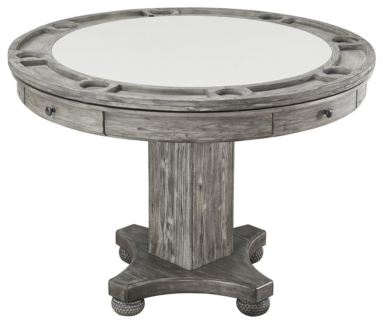 Bars Round Counter Game Table by E.C.I. Furniture at Johnny Janosik