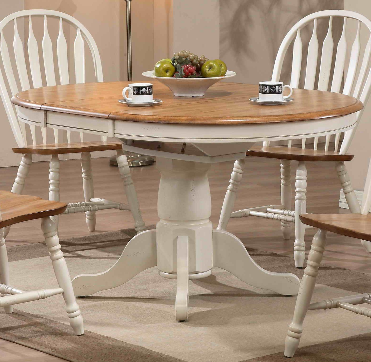 Dining  Round Dining Table by E.C.I. Furniture at Johnny Janosik