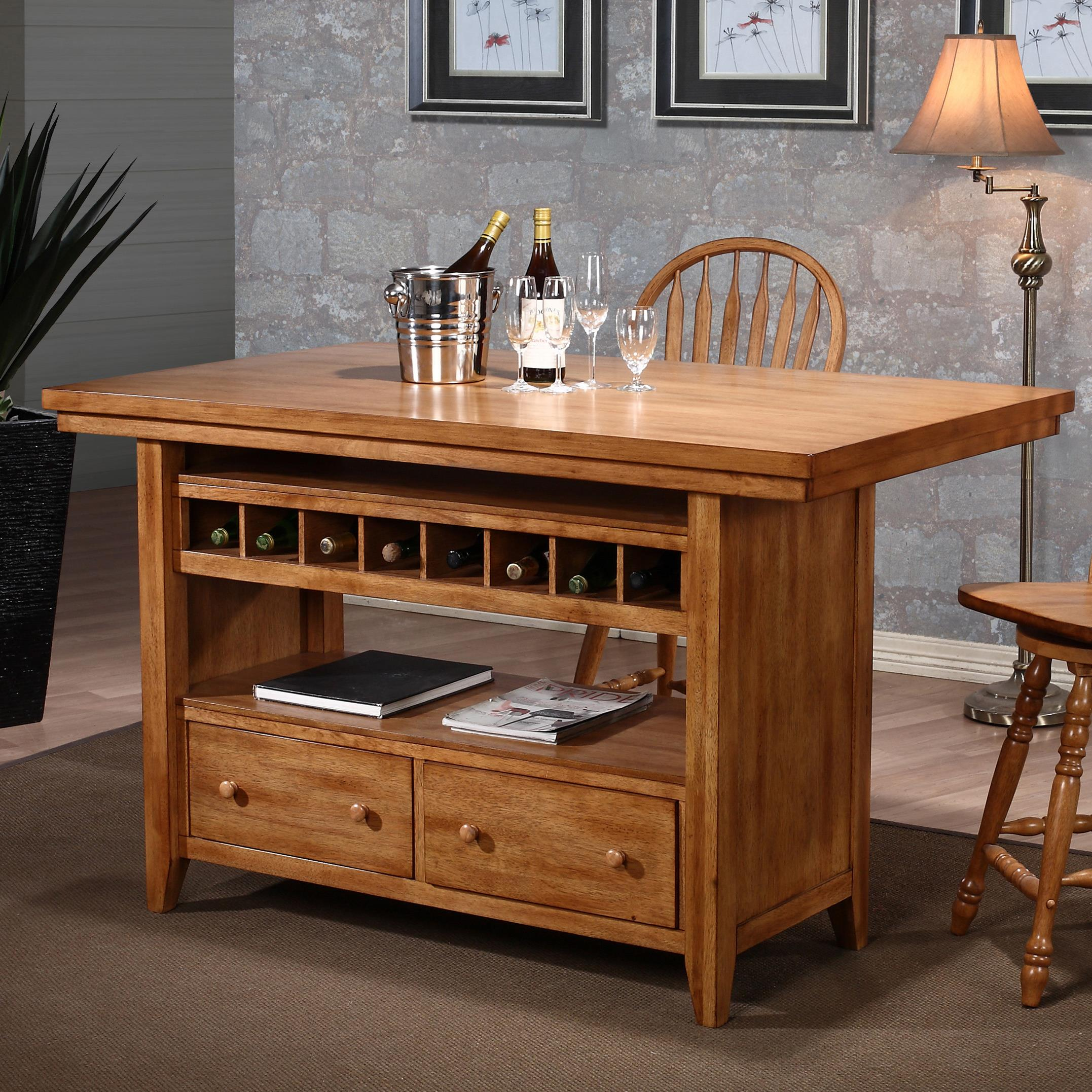 Dining  Kitchen Island by E.C.I. Furniture at Northeast Factory Direct