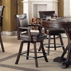 Spectator Memory Swivel Counter Stool