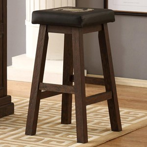 Leather Saddle Stool
