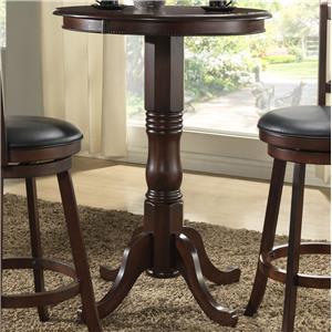 "30"" Round Pedestal Pub Table"