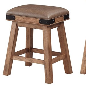 Shenandoah Saddle Counter Stool