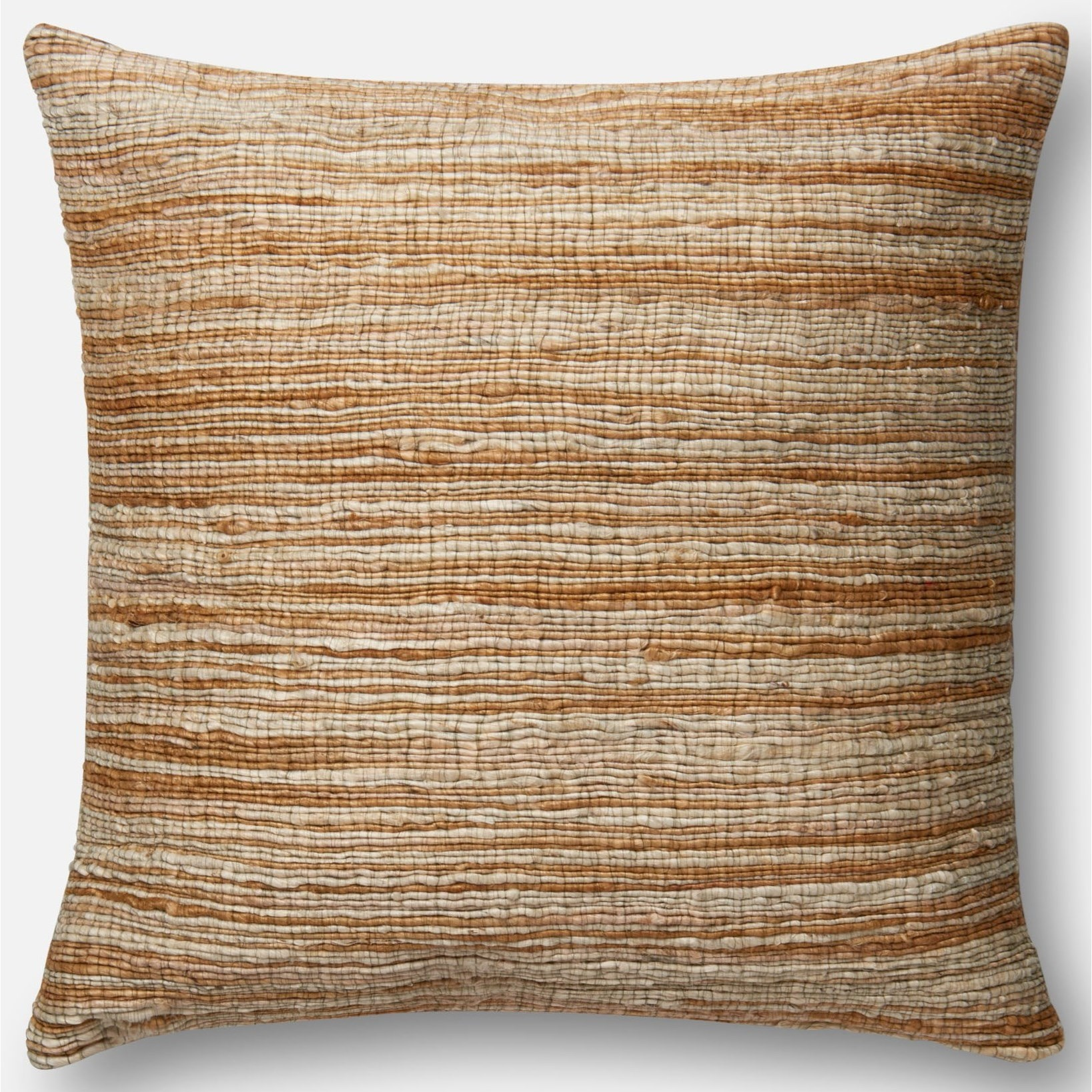 """Applique 22"""" X 22"""" Cover w/Poly Pillow by ED Ellen DeGeneres Crafted by Loloi at Belfort Furniture"""