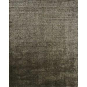"9'-6"" x 13'-6"" Graphite Viscose | Wool Rug"
