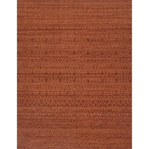 "2'-6"" x 9'-9"" Rust Wool 