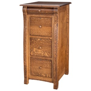 Castelbury 3 Drawer File Cabinet
