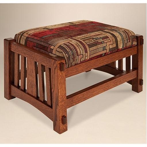 Mccoy McCoy Footstool by AJ's Furniture at Mueller Furniture