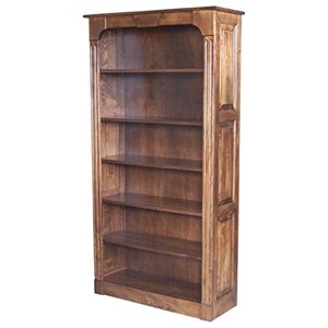 Northport 72 Raised Panel Bookcase