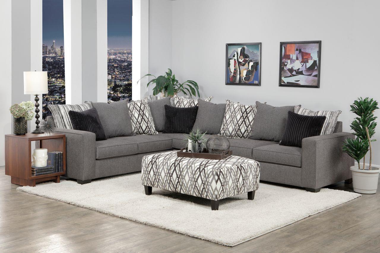 2 Piece Tux Sofa